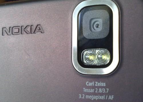 Nokia 5800 XpressMusic detail