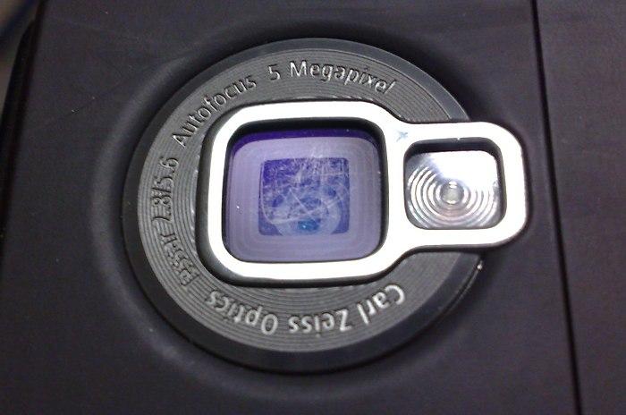 Lens close-up