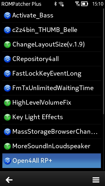 Delight custom firmware flashing screenshot
