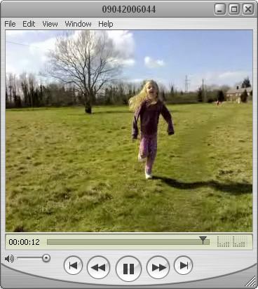 Screengrab from Nokia N70 video capture