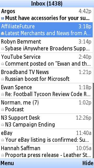 Gmail tutorial screenshot
