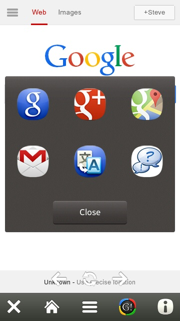 Google HD Browser review - All About Symbian