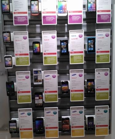 Phone lineup
