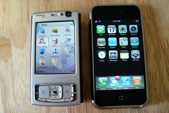 N95 and iPhone
