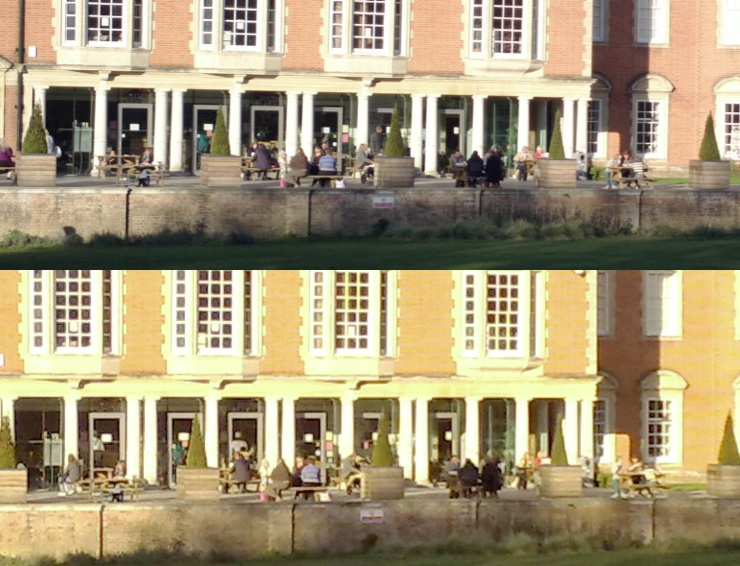Nokia 808 vs N82 photo crop comparison