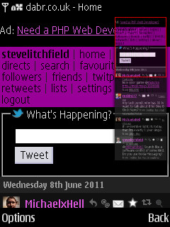 N86 screenshot