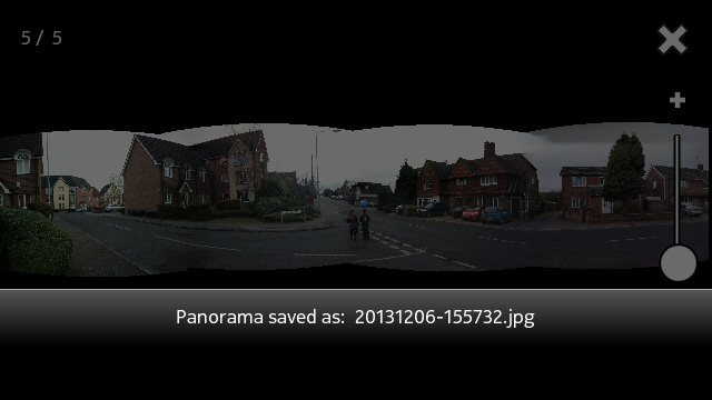 Screenshot, panorama