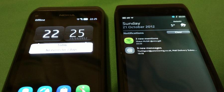 E7 and N950