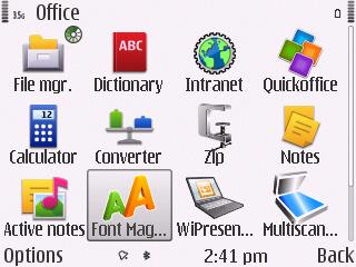 Pimping the Nokia E72 - software for 2011