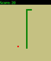 The example Snake game
