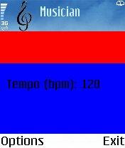 Musician's menu