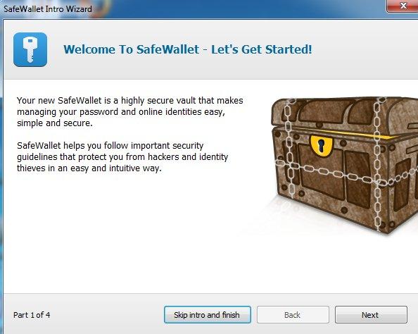 Screenshot, SafeWallet migration