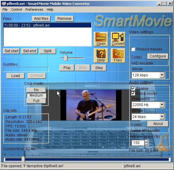codecs smartmovie