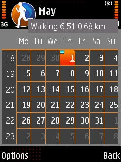 Screen grab - Sports Tracker