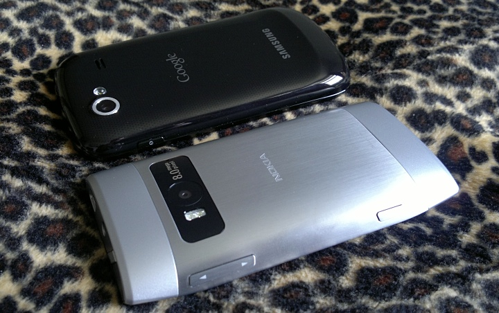 Nexus S and Nokia X7