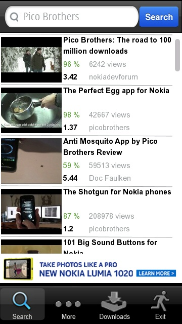 Screenshot, YouTube on mobile