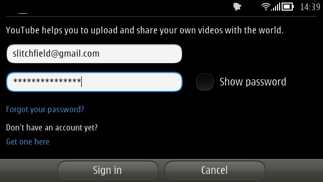 Screenshot, YouTube upload tutorial