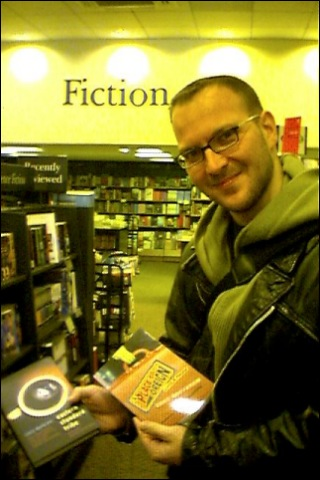 Cory Doctorow and his Books