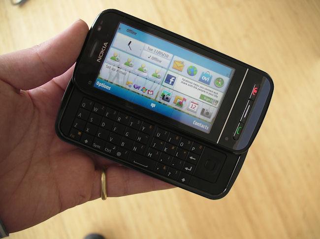 Nokia C6 prototype