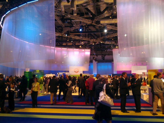 My first glimpse of the Nokia World 2010 Experience Lounge