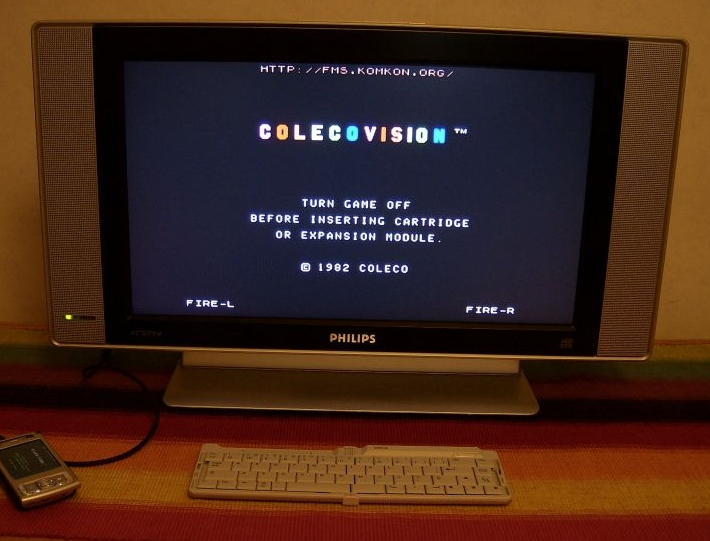 ColecoVision emulated on Nokia N95