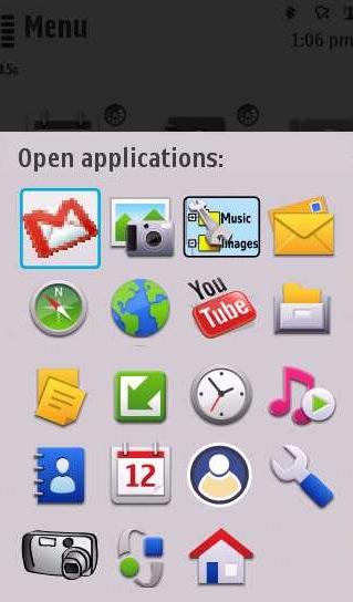 Multitasking on the Nokia N97