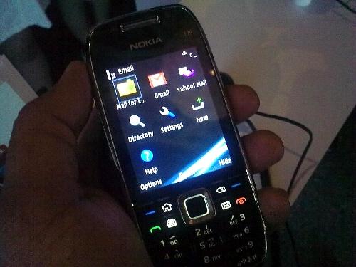 Nokia Messaging on E75