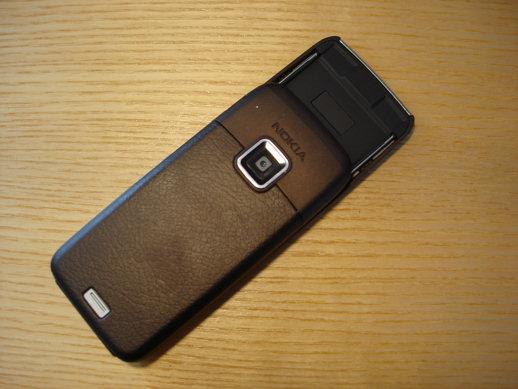 Nokia E65 Back