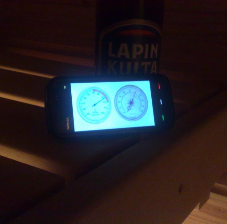 Nokia 5800 Sauna Edition