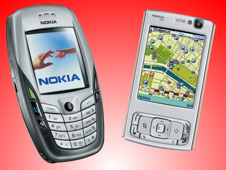 How far we've come: Nokia 6600 to N95... 6600andn95