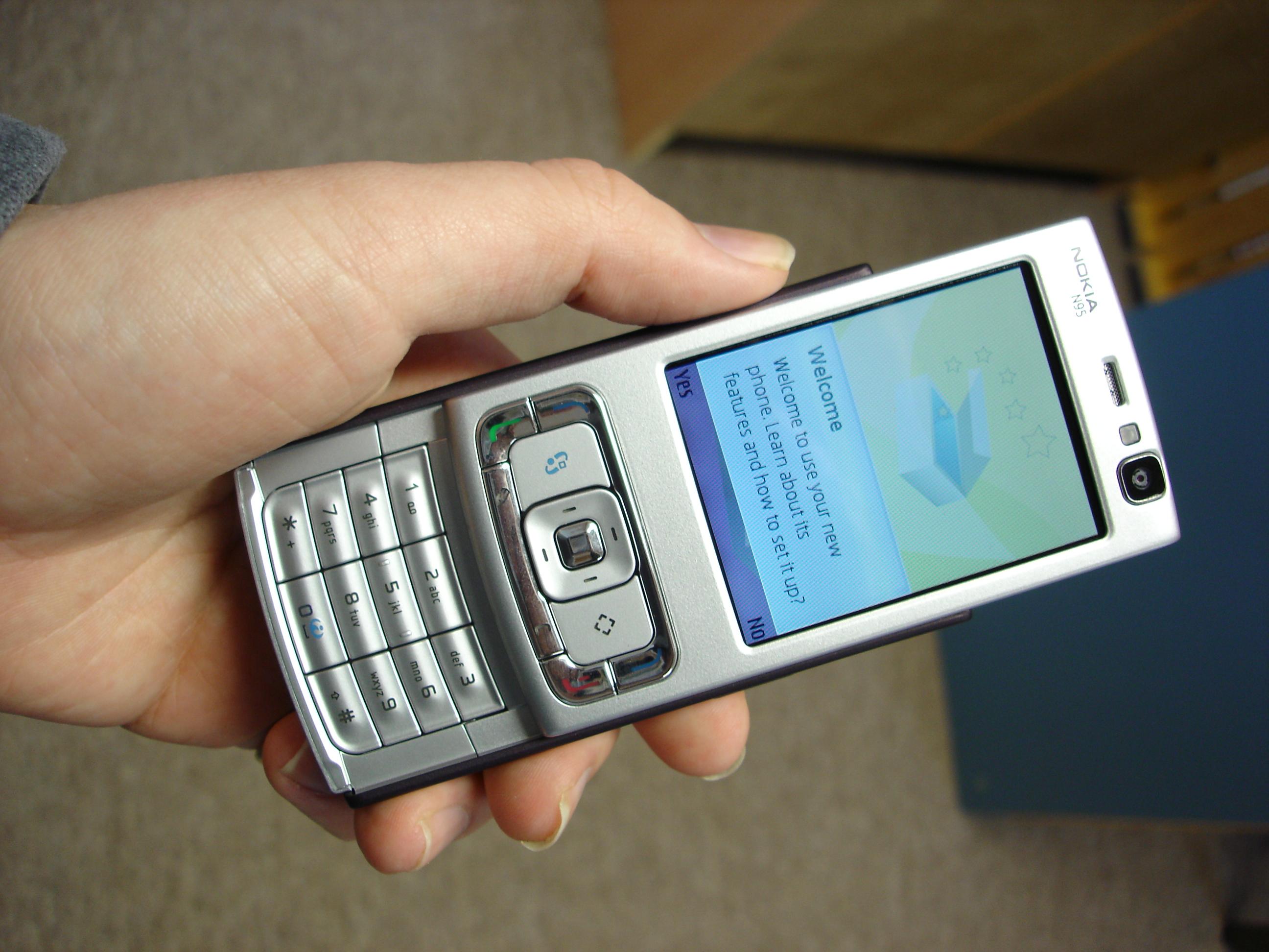 Nokia N95 Impressions Nokia First N95 First
