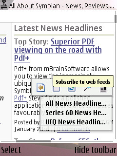 S60 Web Browser 2