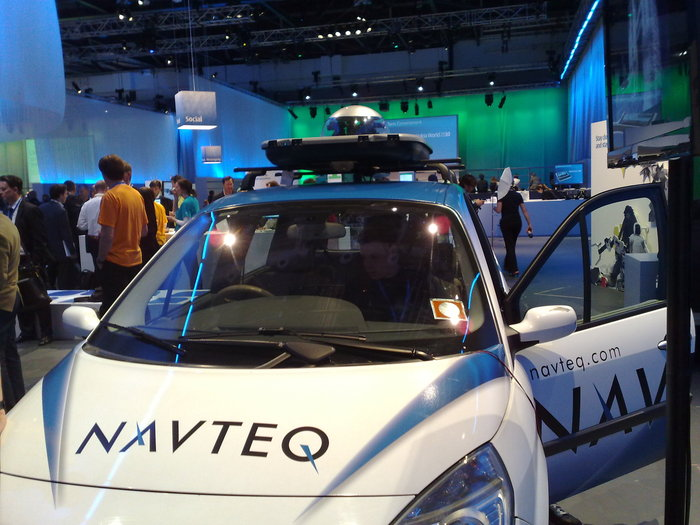 One of NavTeq's GeoData collection vehicles