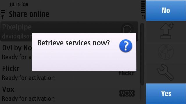 Retrieving Pixelpipe services