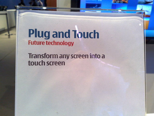 Nokia Plug and Touch