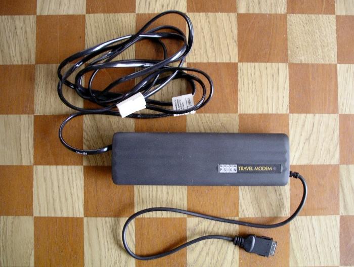 Psion Travel modem