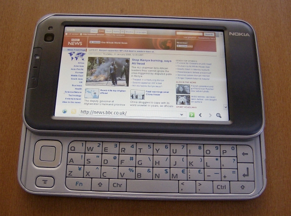 Nokia E90 vs Nokia N810: Part 2 - GPS, Apps, Web and Multimedia
