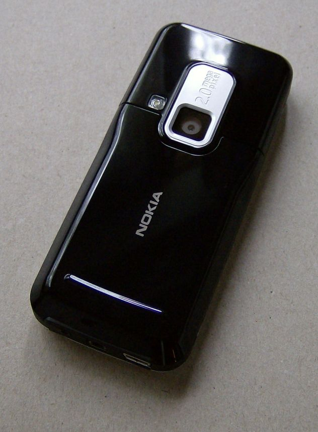 Nokia 6120 Classic back view