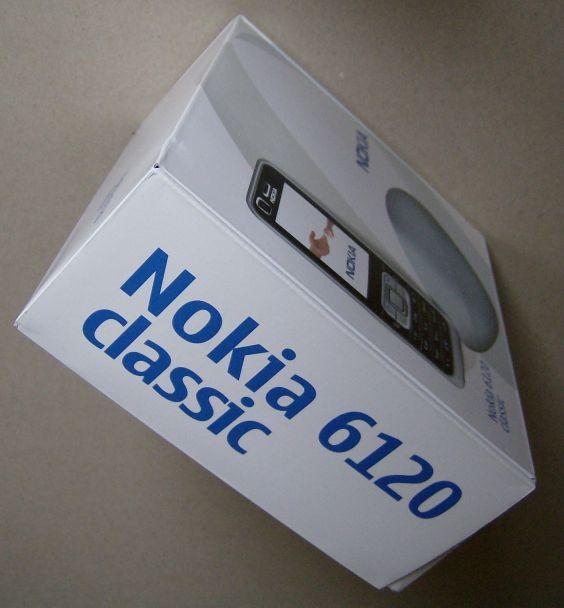 Nokia 6120 Classic box