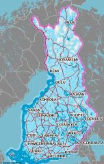 Finland GSM Coverage