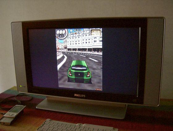 Global Race Raging Thunder on the N95