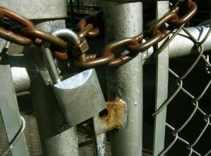 Locked and Chained Gate
