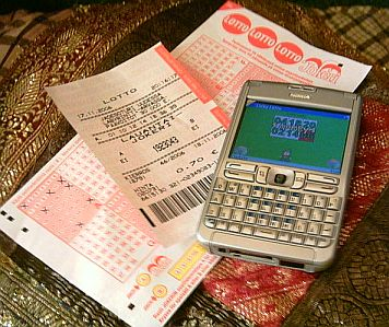 Nokia E61 and lottery ticket
