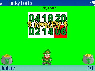 Lucky Lotto screenshot