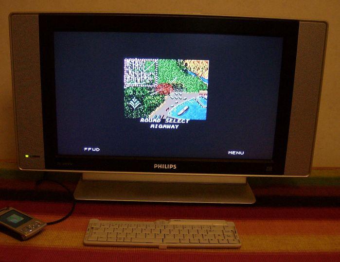 Sega Game Gear emulated by Nokia N95