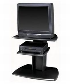 Television with separate DVD player