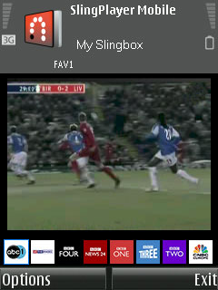 Slingbox running on Nokia N73