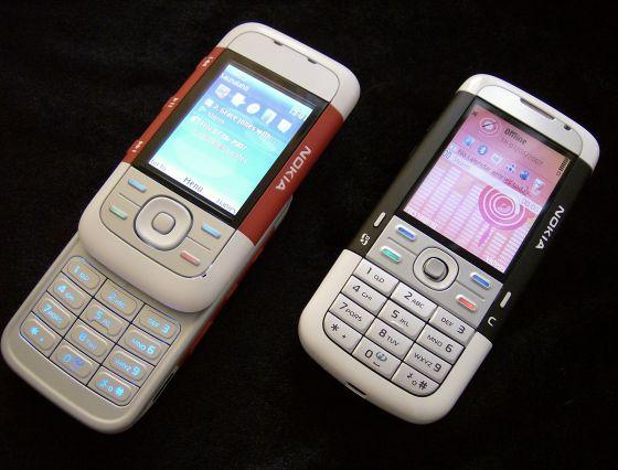Nokia 5300 and Nokia 5700