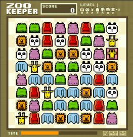 Zoo Keeper flash game