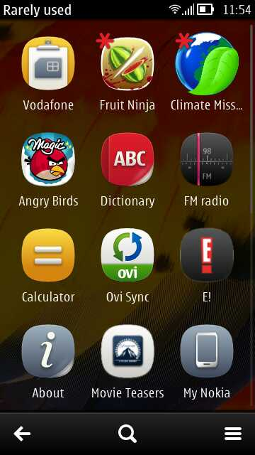 Symbian Belle tutorial